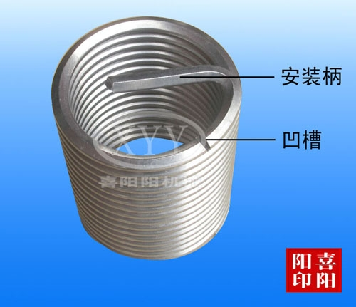 钢丝螺套铸造
